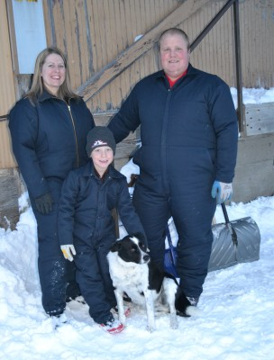 Outfitting the Broughton family from Monkton, Ontario