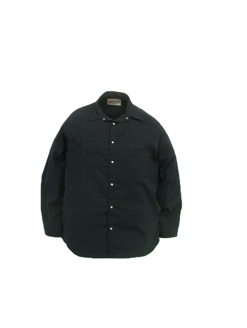 These shirts are made from a 65% polyester/35% cotton blend poplin fabric.  ~Made in Canada  ~2 chest pockets (1 with pencil slot)  ~pearl snap closure  ~cuffs with snap closure  ~machine washable    Available in navy, tan and light grey    Sizing and Pricing:  Sizes S, M, L, and XL ~ $33.80  Sizes XXL and 3XL ~ $37.27