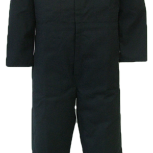 Long Sleeve coveralls. All coveralls are made with a durable 7.5 oz. 65% polyester/35% cotton blend twill fabric.  ~Made in Canada  ~two deep chest pocket (one with flap closure, one with pencil slot  ~two front pockets  ~two side openings for pant pocket access  ~two rear hip pockets  ~concealed 2-way, brass #5 YKK zipper   ~2 YKK domes at collar  ~expansion back feature  ~elastic in back  ~machine washable    Colours available:  navy, green, grey, black, tan and camouflage.  An additional surcharge will apply to camouflage.    Sizes and Pricing:  Available in Short and Regular lengths.  Size 36, 38, 40, 42 and 44 ~ $48.52  Size 46, 48, 50, and 52 ~ $54.20  Size 54, 56, 58, 60 and 62 ~ $59.90    Tall coveralls will be subject to a $2.80 surcharge.